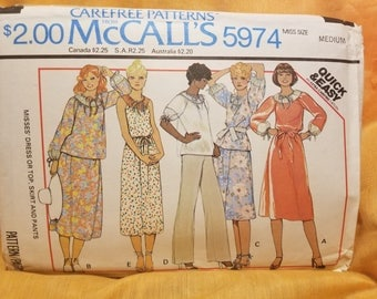 Vintage McCalls 5974