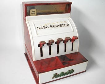 Vintage Reliable Toy Cash Register from the 1950's