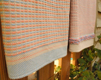 Lux Hand Towels PDF pattern for rigid heddle loom digital download