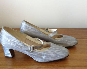 Silver Mary Janes | 1960s