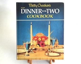 1964 Betty Crocker's New Dinner for Two Cook Book