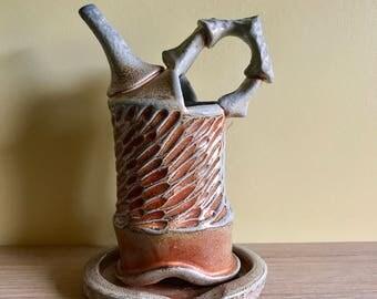 Carved Ewer