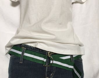 D Ring Belt Pink or Green