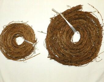 150 Feet, Natural Grapevine ROPE Garland, Vine Garland, 10 Strands of 15Ft each Thick Vine Garland