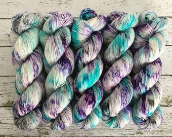 PANDORA - Hand Dyed Yarn - MCN Sock Yarn Fingering - Ready to Ship - Vivid Yarn Studio