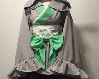 Totoro Kimono Dress Set
