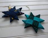 Set of 2 Folded Fabric Or...