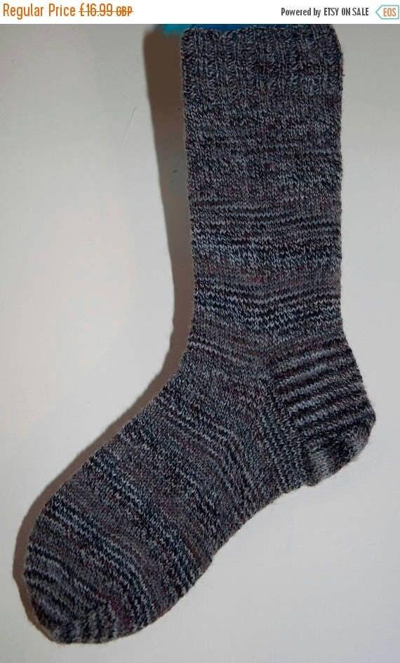 Christmas In July Handknitted Socks Adults in Luxury Yarn