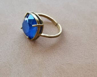 Isengard vintage styled swarovski ring