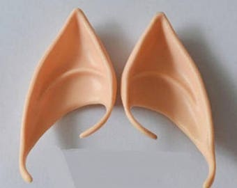 Latex Elf or Fairy ears with ear cuffs