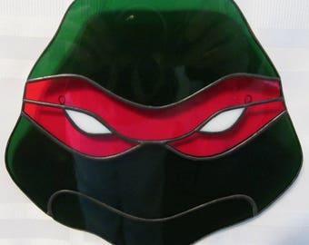 Teenage Mutant Ninja Turtles Stained Glass Suncatcher