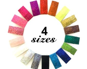 SALE Glitter Snap Clips