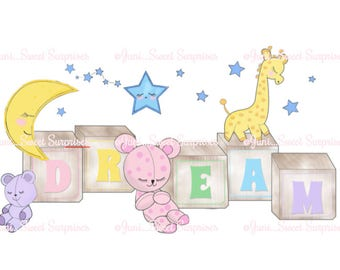 "Kiddie Prints - ""DREAM"""