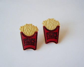 French fries ♥ Stud Earrings ♥