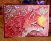Rose Series - Fox Magic - Original Art