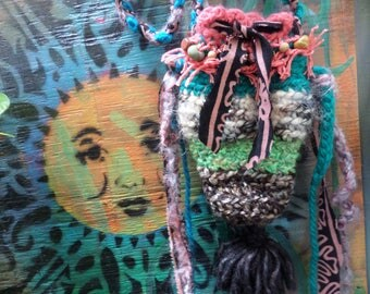 Cross body bag, cross body purse, boho pouch, E12, Hippie pouch, Festival pouch, Hippie Festival, Faerie purse, woodland pouch, phone purse