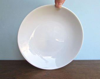 """Schmidt Brasil Vintage 7.5""""  Modern Porcelain Bowl, MCM Brazil"""