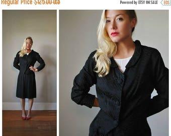 ON SALE 1950s Diamond Suit Set~Size Small to Medium