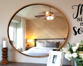 Then Sings My Soul Wall Decal/ Christian Wall Words/ ChristianWall Transfer/ Christian Vinyl Lettering