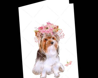 Dog-Dog Card-Cairn Terrier Greeting Card