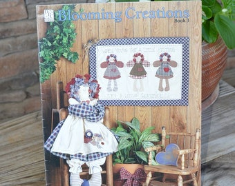 Blooming Creations Raggedy Doll & Quilt Pattern Book
