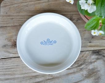 Blue Cornflower Corning Ware Pie Plate