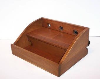 Charging Station / Docking Station (FREE SHIPPING) Handcrafted in Maple for Cell Phone, iPod, MP3