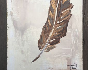 Eagle Feather- Original Painting