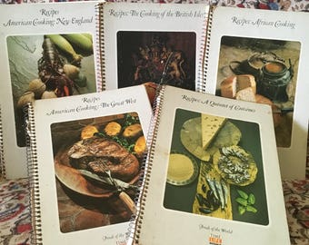 Time Life Books: Foods of the world cookbooks