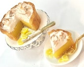 Lemon Pie  - 1/12 scale miniature
