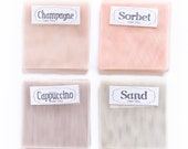 English Net Swatches, Veil Swatches, Fabric Samples, Net Veil Swatches, Wedding Veil Swatches, Bridal Veil Fabric Swatches Soft Wedding Veil