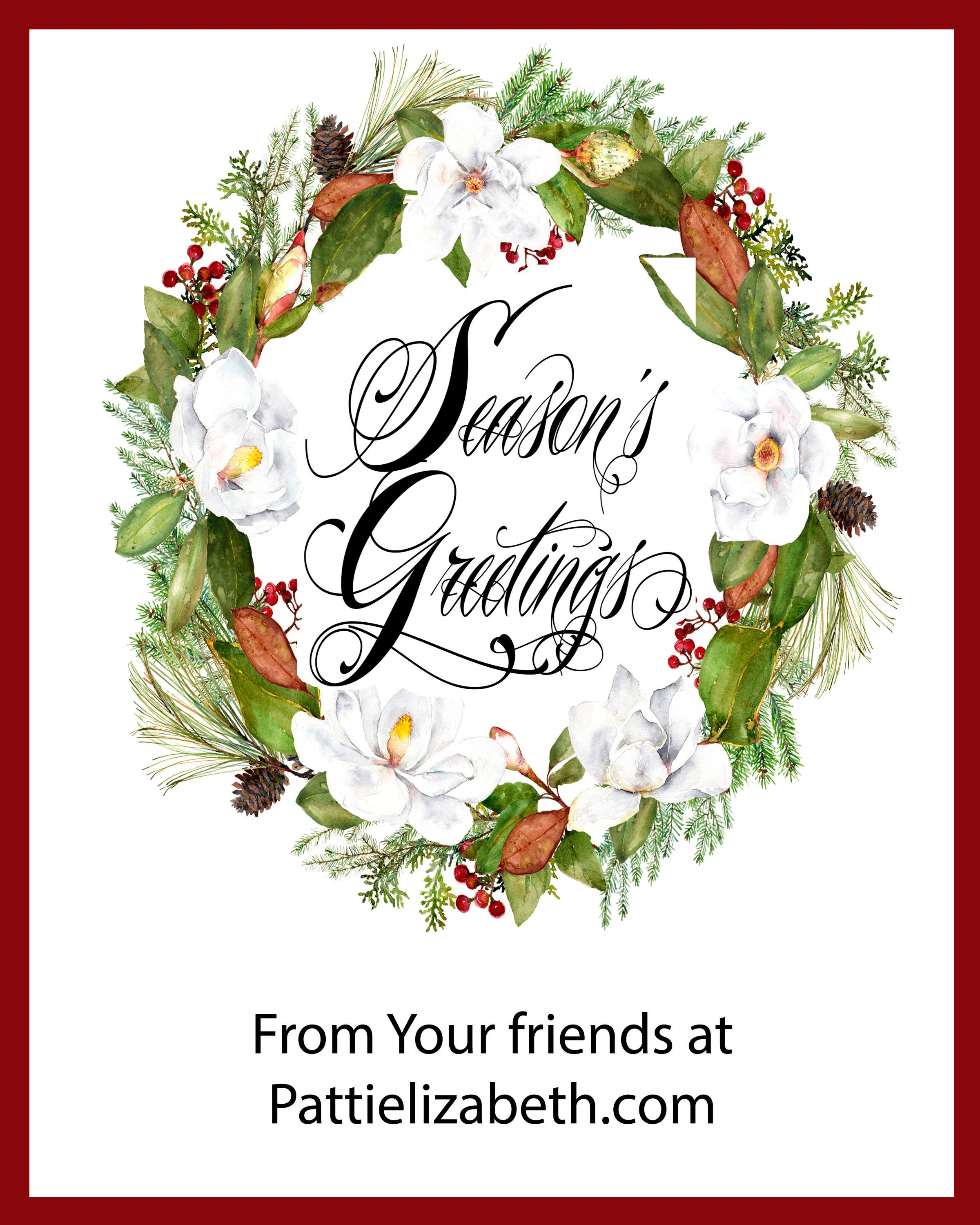 Christmas e cards for business, electronic Christmas card for ...