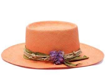 Women's Straw Hat Panama Sun Hat