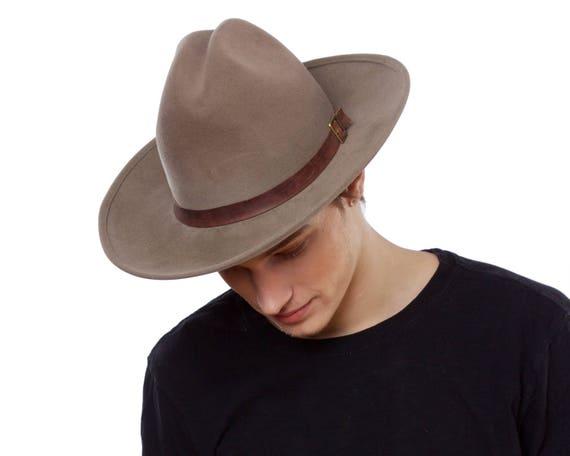 Women's Cowboy Hat Western Hat Rancher's Hat Men's Cowboy Hat Winter Accessory Felt Cowboy Hat Winter Hat Stetson Hat Cowgirl Hat Custom Hat