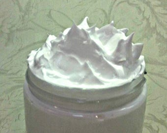 Unscented Whipped Soap, Fluffy Cream Soap, 8 Oz.