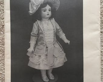 """Byron Doll Patterns: Dress and Hat for 22"""" Doll"""