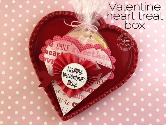 KIT Valentine\'s Day Heart Treat Box /Co-Workers Treats /