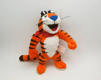 Kelloggs Frosted Flakes Tony the Tiger Plush Toy 1997