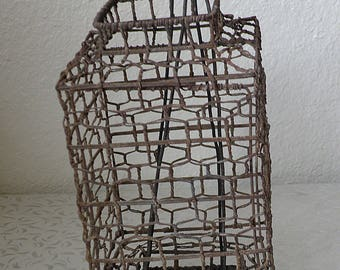 Vintage CHINESE Wire Candle LANTERN