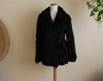 """Vintage """"fur couture"""" fur coat"""