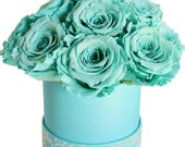Tiffany Hat Box Roses by MelroseFields