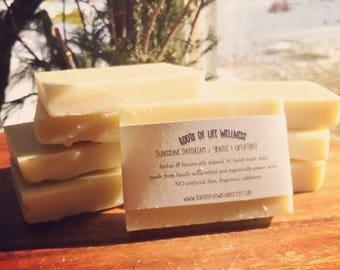 sunshine daydream / a gentle & uplifting skin nourishing soap
