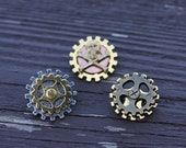 Tiny Gear Pins (Assorted Styles)