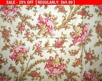 Antique French Fabric Cotton Pillow