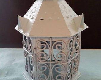 Aqua Lantern, Tea Lite Holder