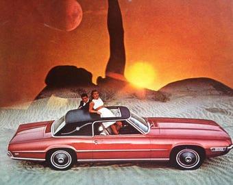 1968 Ford Thunderbird and Polaroid Advertisement