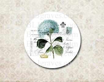 Stickers Hydrangea Flower Envelope Seals Weddings Party Favor Treat Bag Sticker SP060
