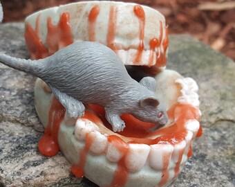 Don't Feed The Walkers, Lizzie - Walker Bites -  Walking Dead Zombie Teeth Soap - Walking Dead Inspired Soap - Zombie Teeth