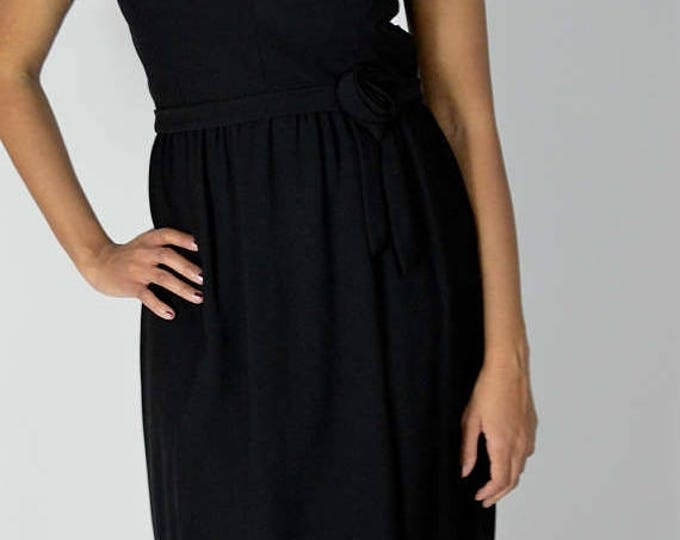 sale Vintage Dress, 60s Dress, Little Black Dress, Wiggle Dress, 60's Vintage, Cocktail Dress, Below the Knee, Fitted Dress, 1960s Dress, Si