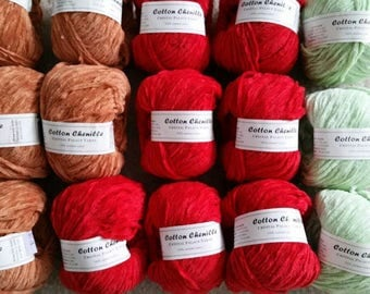 Crystal Palace Cotton Chenille Yard